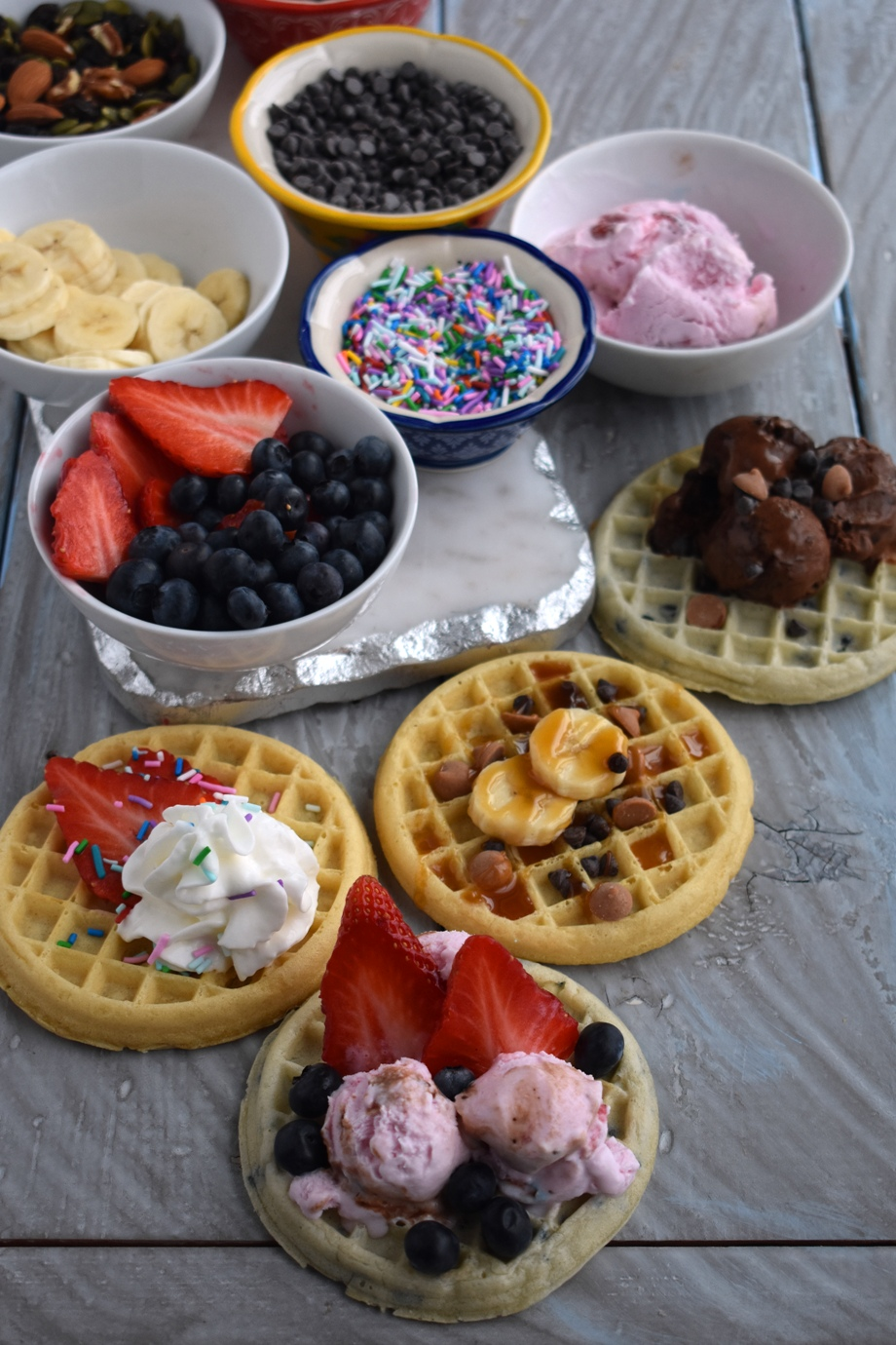 dessert waffle bar recipe