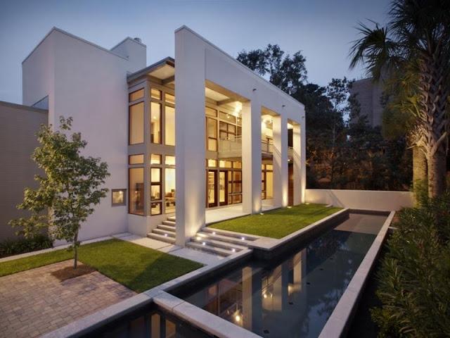 Awesome garden residence in Savannah