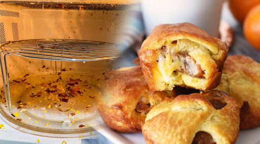 Home made, EGG PUFFS Explosion