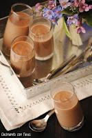 Crema de chocolate con castañas y Baileys