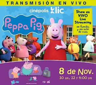 Show de PEPPA PIG  ¡EN VIVO! ONLINE
