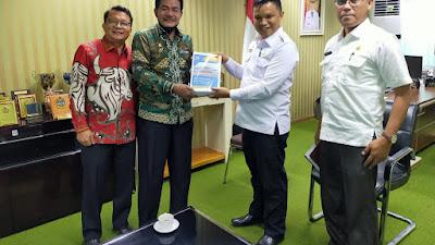 Bupati & Ketua DPRD Nias Barat Kunjungi BPKAD SUMUT