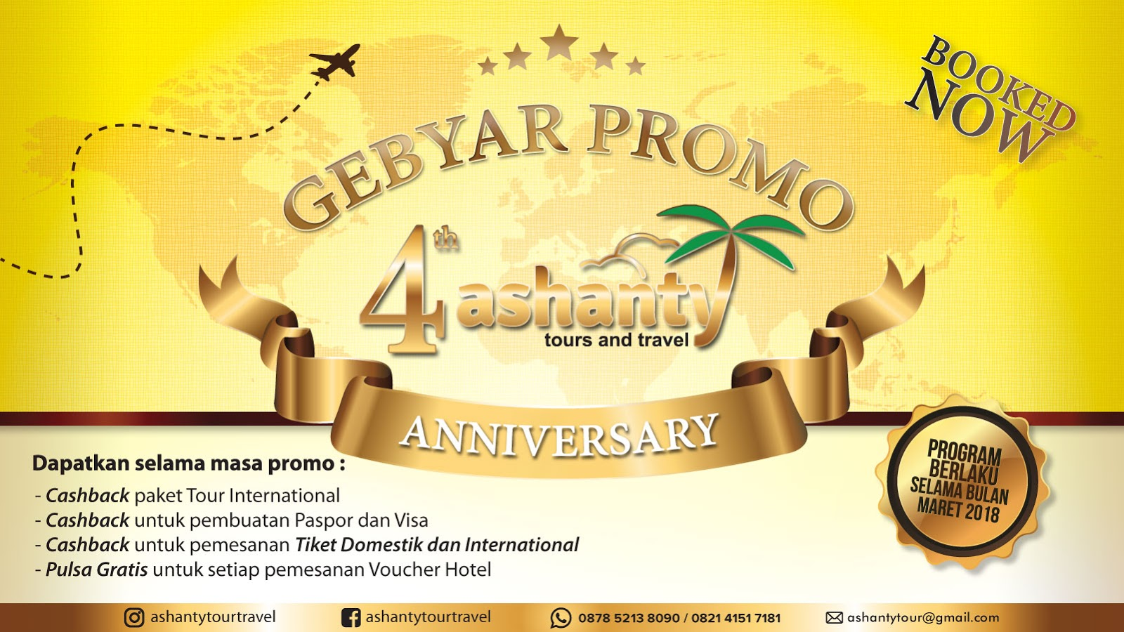 promo ashanty tour and travel surabaya
