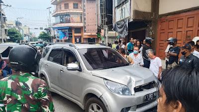 VIDEO, Tabrakan di Simpang 4 Kota Tebingtinggi, Begini Kondisi Korban