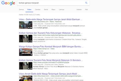 Indonesia bar bar - Korban Tsunami dan Gempa Palu, Menjarah.