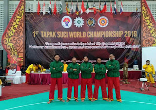 4 Atlet Bondowoso Bersaing Dengan 13 Negara Dalam Kejuaraan Dunia Tapak Suci