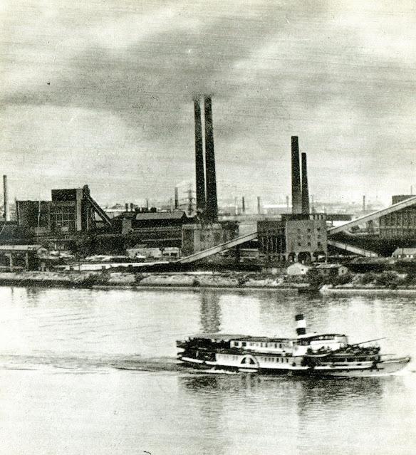 1959. Будапешт, Венгрия - Южный заводской район - Чепель