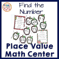Find the Number Place Value Game