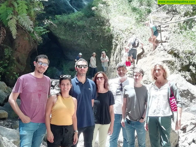 Grandes productoras de cine y televisión llegan a La Palma para conocer las historias y localizaciones de isLABentura
