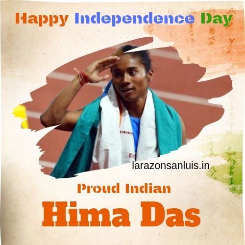 hima das independence day images 2021