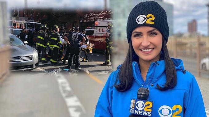 Reportera de CBS  muere en accidente cuando se transportaba en parte trasera de pasola Revel