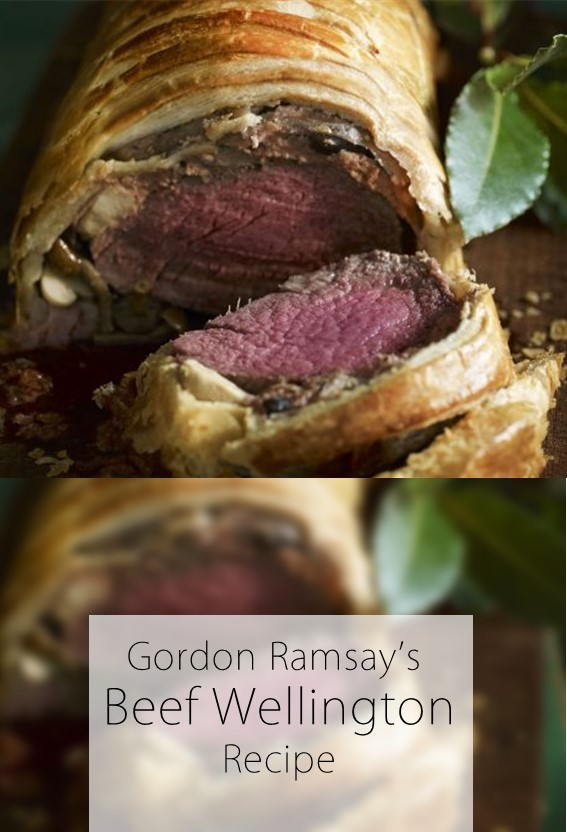 Gordon Ramsay's beef Wellington Recipe #Beef_Wellington #Beef #GordonRamsay