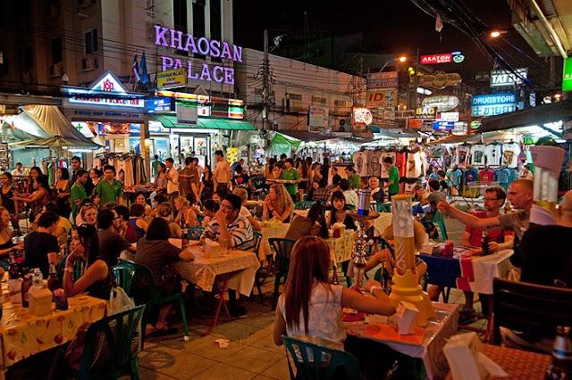 What about the Khao San Bangkok at night?