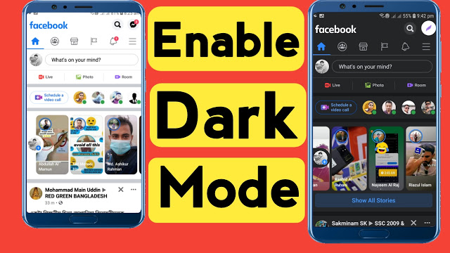 How To Turn On Dark Mode On Facebook Officially
