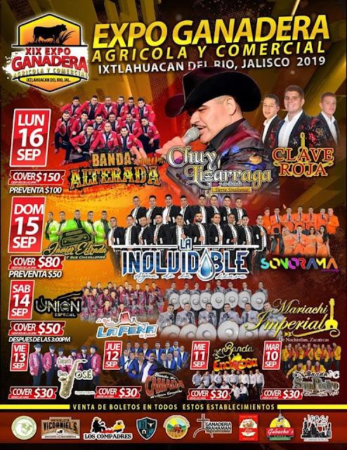 bailes expo ganadera ixtlahuacán 2019