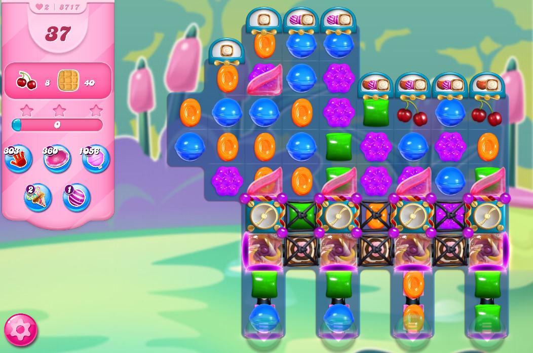 Candy Crush Saga level 8717