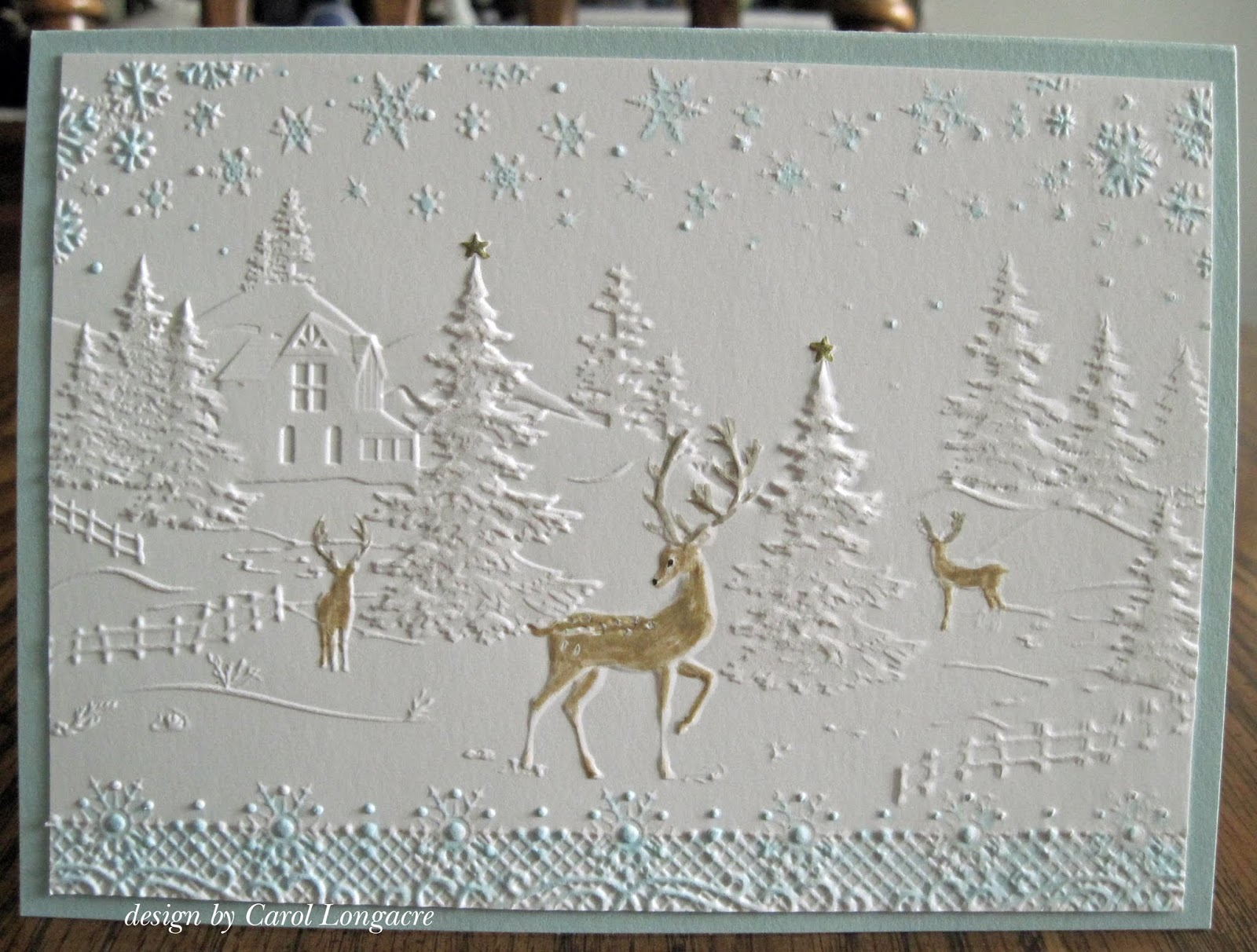 Our Little Inspirations Christmas Scene