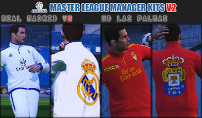 PES 2016 / PES 2017 Master League Manager Kits V2 by fifacana
