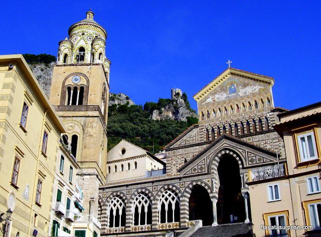 Catedral de Santo André, em Amalfi, Costa Amalfitana