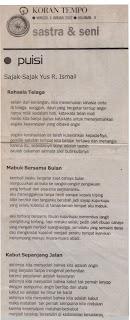 Puisi Yus R. Ismail