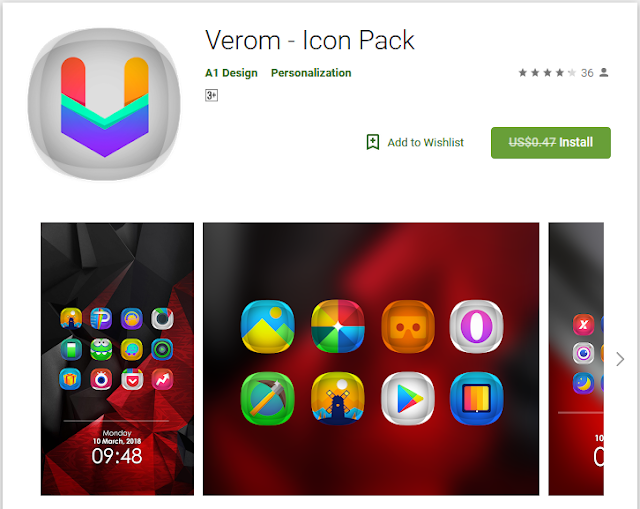 Verom — Icon pack