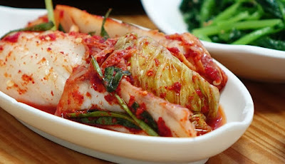 Kimchi, makanan asal Korea yang sehat
