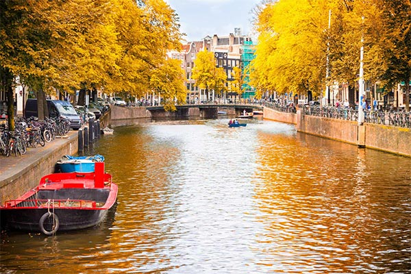 Top European cities most beautiful in autumn