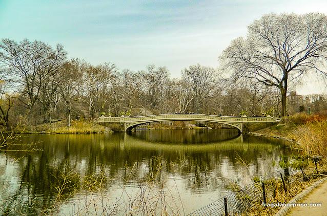 Bow Bridge, Central Park, Nova York
