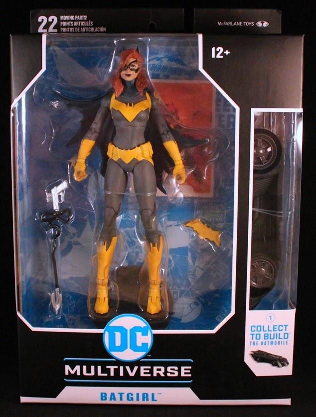 McFarlane Toys DC Multiverse Collector Wave 1 BATMOBI Batgirl: Art of Crime