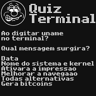 Ao digitar uname no terminal