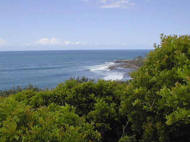 Coast near Yamba, New South Wales, Australia. Photo by Loire Valley Time Travel.