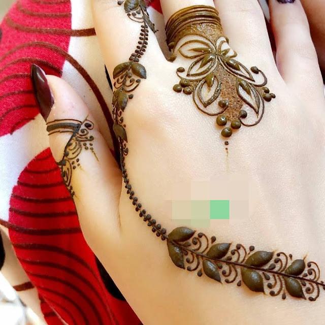 arabic mehndi designs 2015