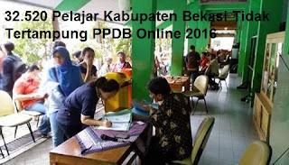 32.520 Pelajar Kabupaten Bekasi Tidak Tertampung PPDB Online 2016