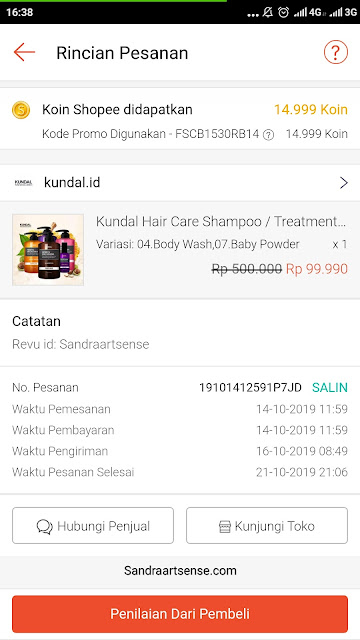 Review Kundal Body Wash