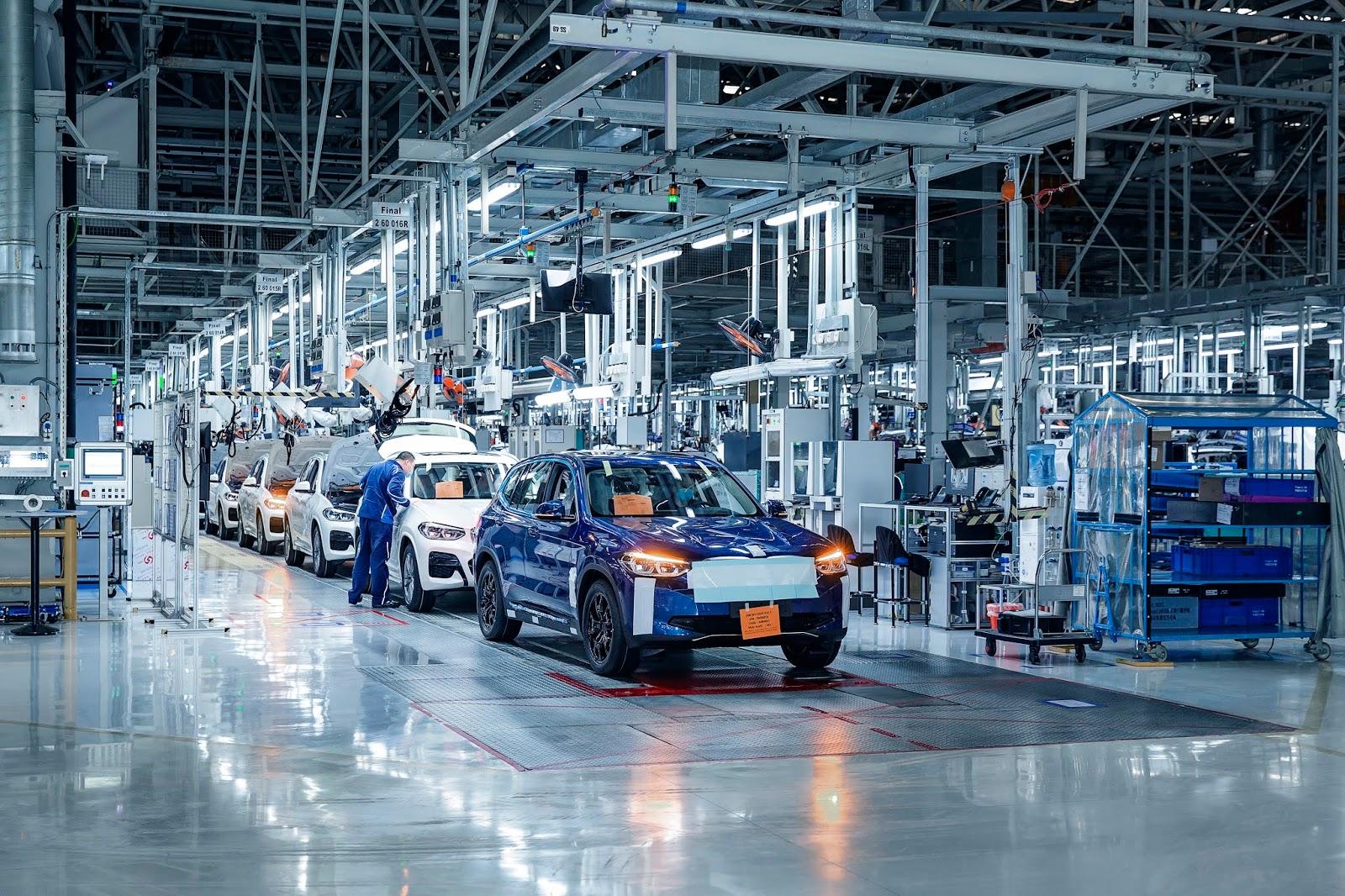 TODO LISTO PARA DAR INICIO CON LA PRODUCCIÓN DEL BMW iX3