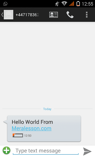 php can send sms for free