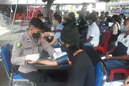 Polda Maluku Berhasil Vaksinasi 32.745 Warga di RS Bhayangkara Ambon