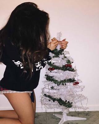 Poses para fotos de navidad tumblr