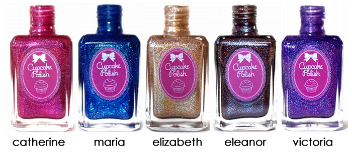 Cupcake Polish Queen Collection