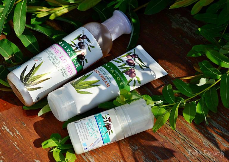 Naturalne greckie kosmetyki Olivaloe z organicznym aloesem i oliwą z oliwek