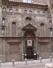 The Oratory of San Filippo Neri was reconstructed after the war