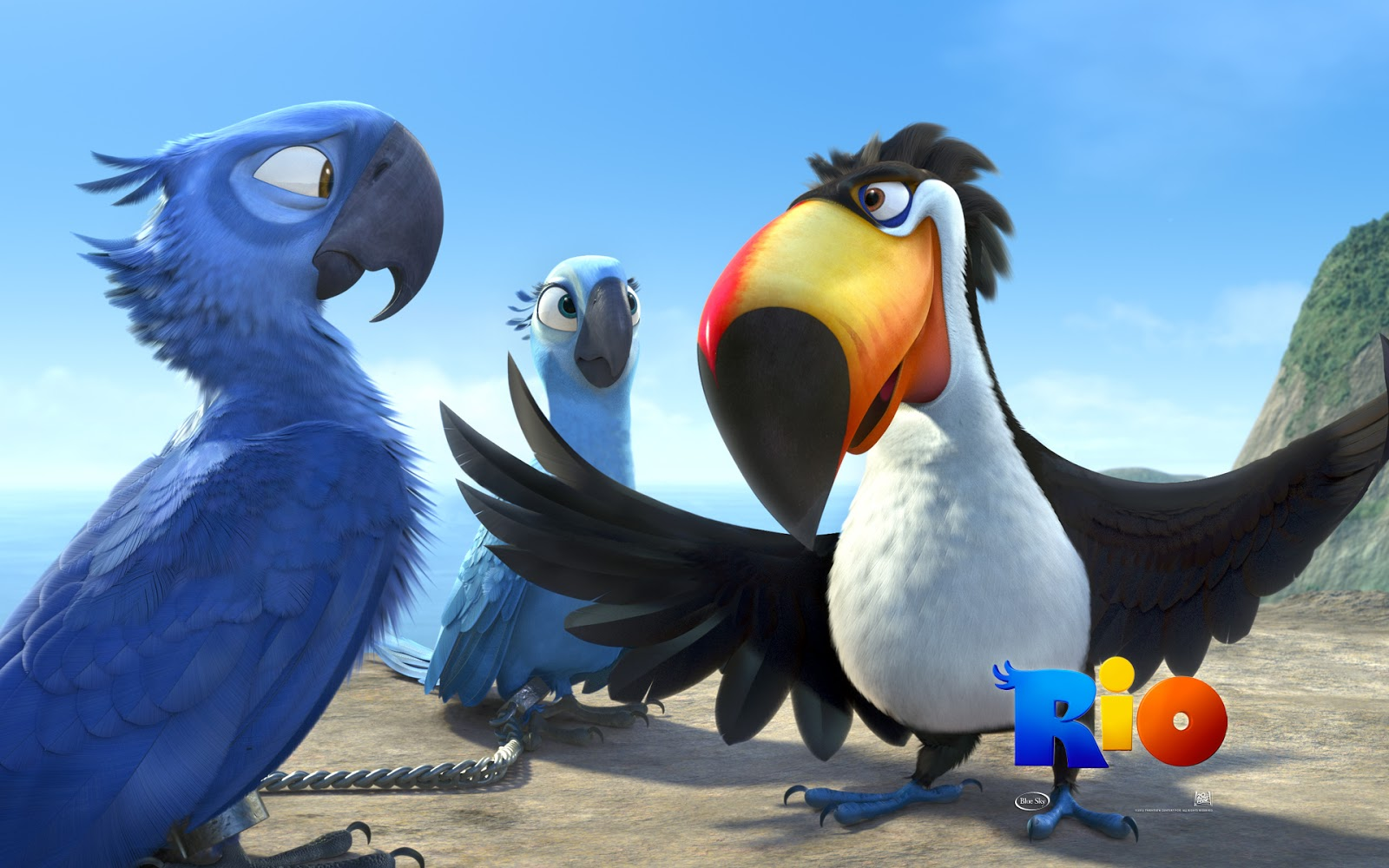 Angry Birds Rio Movie HD Wallpapers & All Characters ...