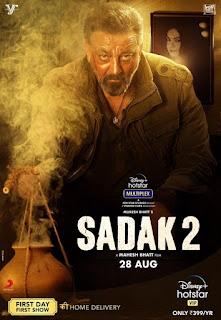 Sadak 2 First Look Poster 5