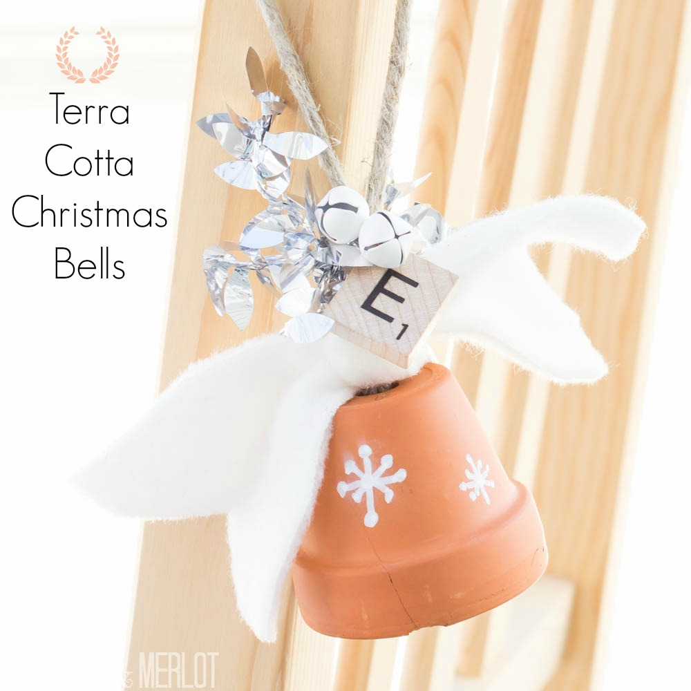 Terra Cotta Christmas Bells!