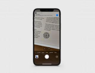Cara QR code scan di iphone