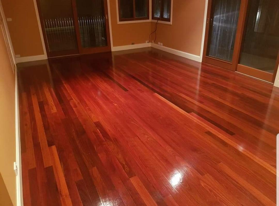 polish wooden floors