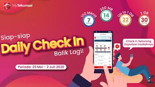 Daily Check In Telkomsel Tidak Bisa Di Claim