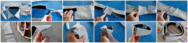 Sewing an Extension Piece into a Dress Shirt Collar