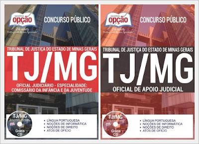 Apostila do concurso TJ MG - Tribunal de Justiça do Estado de Minas Gerais