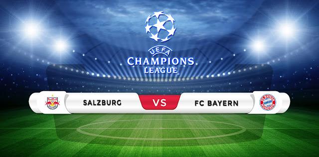 Salzburg vs Bayern Munich Prediction & Match Preview